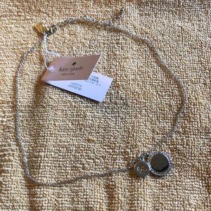 NWT Kate Spade Pendant ( Spot the Spade) Necklace